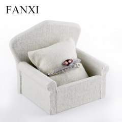 FANXI Manufacturer Jewelry Display Hight Quality Creamy Whit...