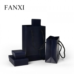 FANXI Custom Cheap Jewelry Boxes With Foam Insert And Paper ...