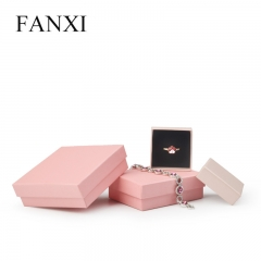 FANXI Custom Jewelry Packing Boxes With Foam Insert For Ring...