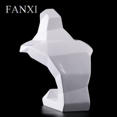 FANXI Custom Color White Glossy Finish Lacquer Jewelry Displ...