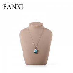 FANXI Custom Logo Jewelry Shop Exhibitor Organizer Light Bro...