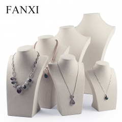 FANXI Chinese Factory Wholesale Custom Shop Showcase Creamy ...
