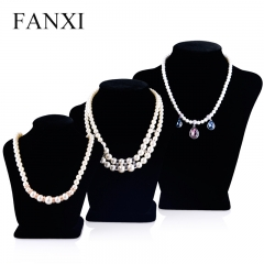 FANXI Wholesale Jewelry Shop Made By Wood And Velvet Elegant...
