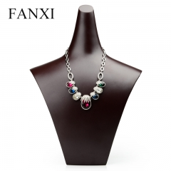 FANXI Chinese Supplier Custom Luxury Upmarket Necklace Stand...