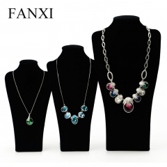 FANXI China Wholesale Custom Import Black Velvet Necklace St...