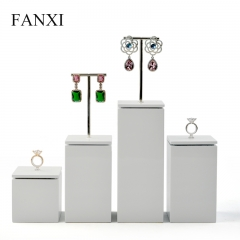 FANXI Custom Logo Luxury white Glossy finish Lacquer with Me...