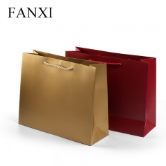 FANXI factory wholesale custom print logo gift paper shoppin...