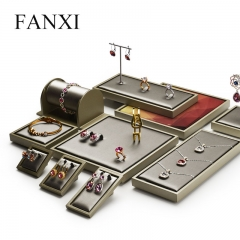 FANXI factory custom luxury jewelry display stand set