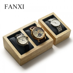 FANXI factory custom wood watch display rack stand