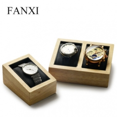 FANXI factory custom logo cabinet watch display stand