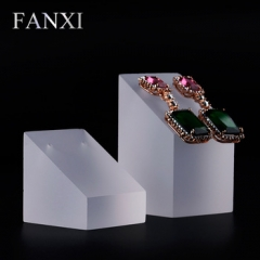 FANXI factory custom logo acrylic earring display stand