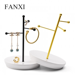 FANXI factory custom metal jewelry display rack jewerly stan...