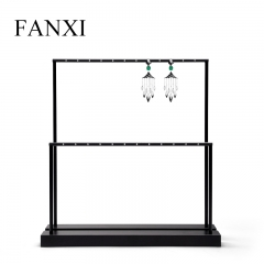 metal earring display stand rack holder