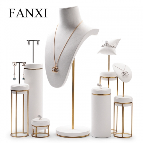 luxurious jewelry display stand rack