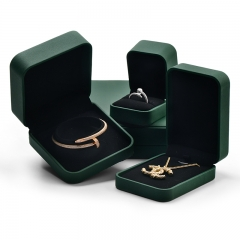 leather jewelry gift packing box