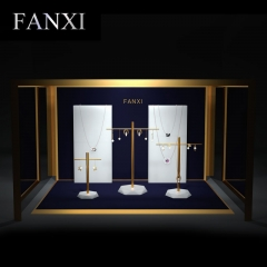 luxury jewelry necklace display earring stands set