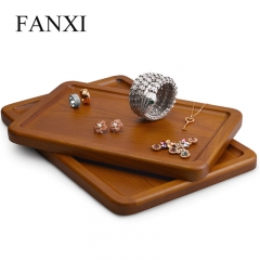 wooden jewellery display tray