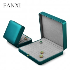 wholesale cheap leather jewelry ring box