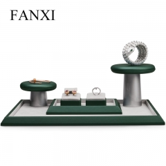 fashionable jewellery display stand set for ring earring pen...