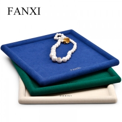 velvet jewelry display trays for ring pendant bangle bracele...