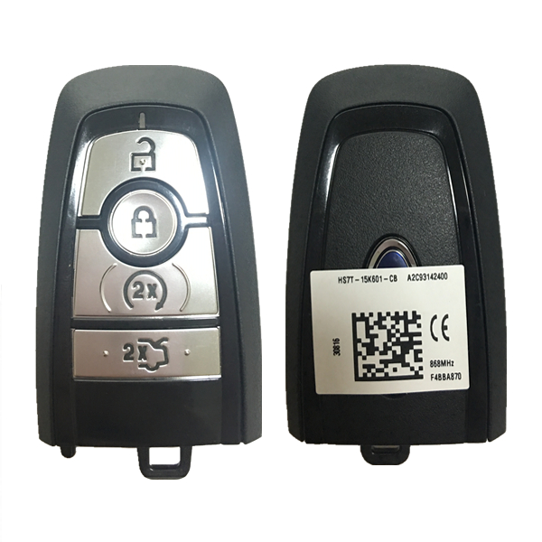 CN018093 ORIGINAL Key For Ford Frequency 433 MHz Transponder HITAG PRO Part  No HS7T-15K601-EB