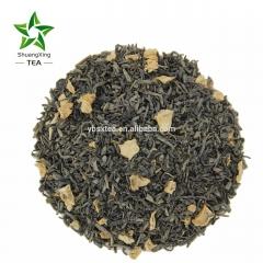 Ginger tea/The vert de Chine/Shuangxing tea/Yibin tea/Sichuan tea/China green tea with ginger hotsale tea