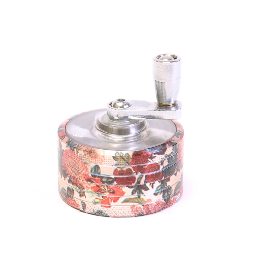 Jiju Zinc Alloy Herb Grinder With Handle