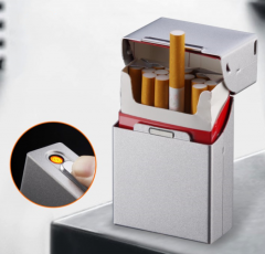 Smoking Cigarette Lighter Case