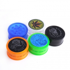 Plastic 3 Parts Herb Grinder