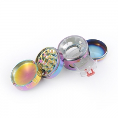 Jiju colorful high quality metal herb grinder
