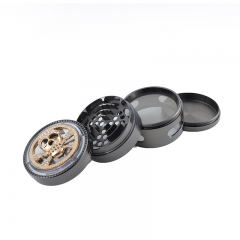 63mm-4 part Weed Grinder Herb Grinder With Custom Logo