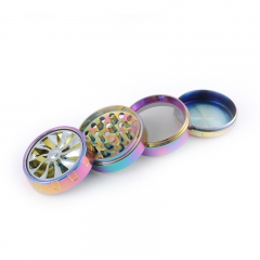 colorful weed herb grinder