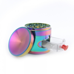 63mm-4 part colorful herb grinder