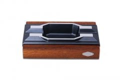 wooden cigar ashtray