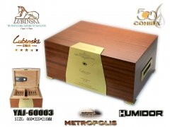 brown wood cigar box