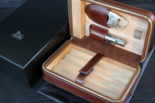 cigar box leather