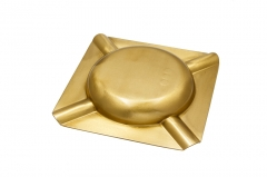gold cigar ashtray