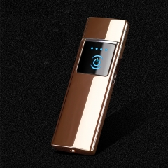 Fingerprint arc portable lighter