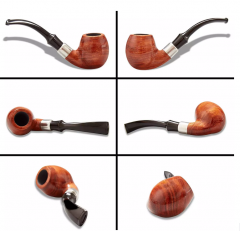 handmade wooden pipe