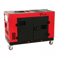 Two-cylinder diesel generator