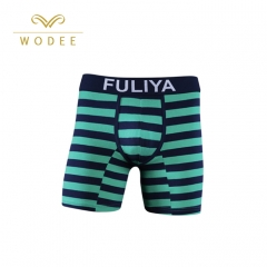 Men's stripe boxer shorts cotton