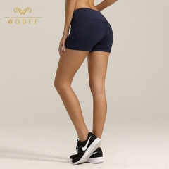 OEM service yoga pants push up tight gym shorts women fitness