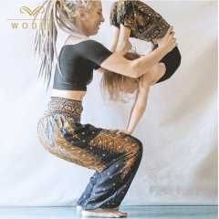 Enfants vêtements de yoga enfant baggy harem boho yoga hippie pantalon