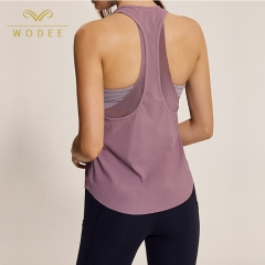OEM gym clothing plus size yoga bodybuilding tank tops sexy for women