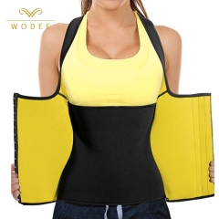 Popular feminine body shaper latex sweat waist shaper with 3 line hooks