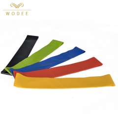Fitness yoga rubber leg hip pull up resistance band