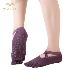 Professional sport socks cotton yoga socks for women non-slip