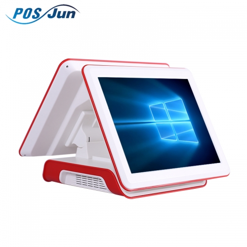 "15""Capacitive Dual Touch Screen Billing Machine/pos system/pos machine 561P"