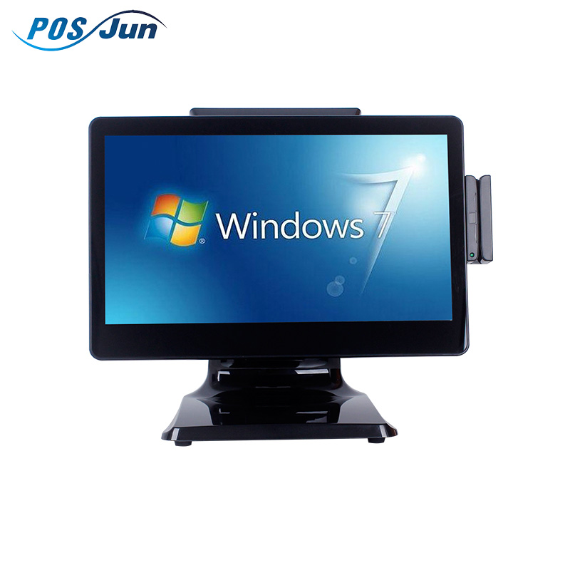 Junrong 602 New Design Pos Terminal/Pos System/ Epos All In One for supermarket