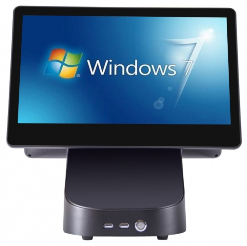 Dual screen POS machine 15.6 inch Android
